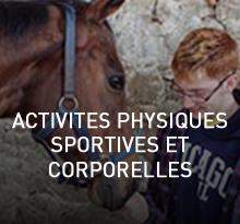 activités physiques sportives et corporelles